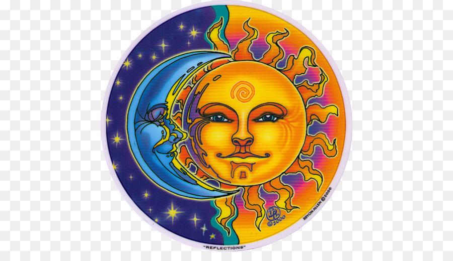Descarga gratuita de Mandala, Luna, Color Imágen de Png