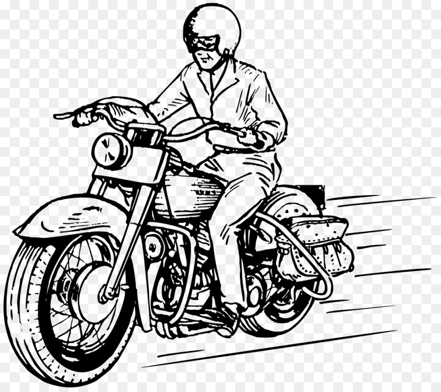 Motocicleta Dibujo Harleydavidson Imagen Png Imagen