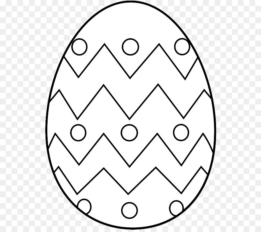 Huevo De Pascua Libro Para Colorear Pascua Imagen Png