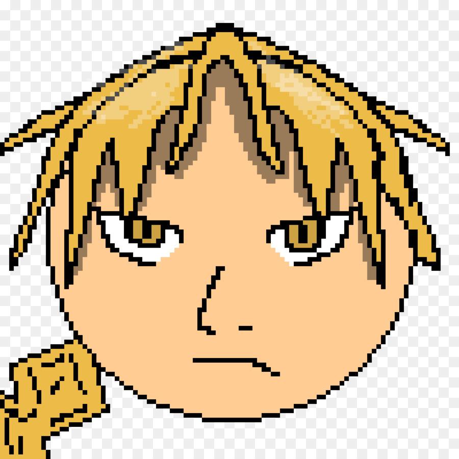 Descarga gratuita de Pixel Art, Edward Elric, Arte De Línea Imágen de Png