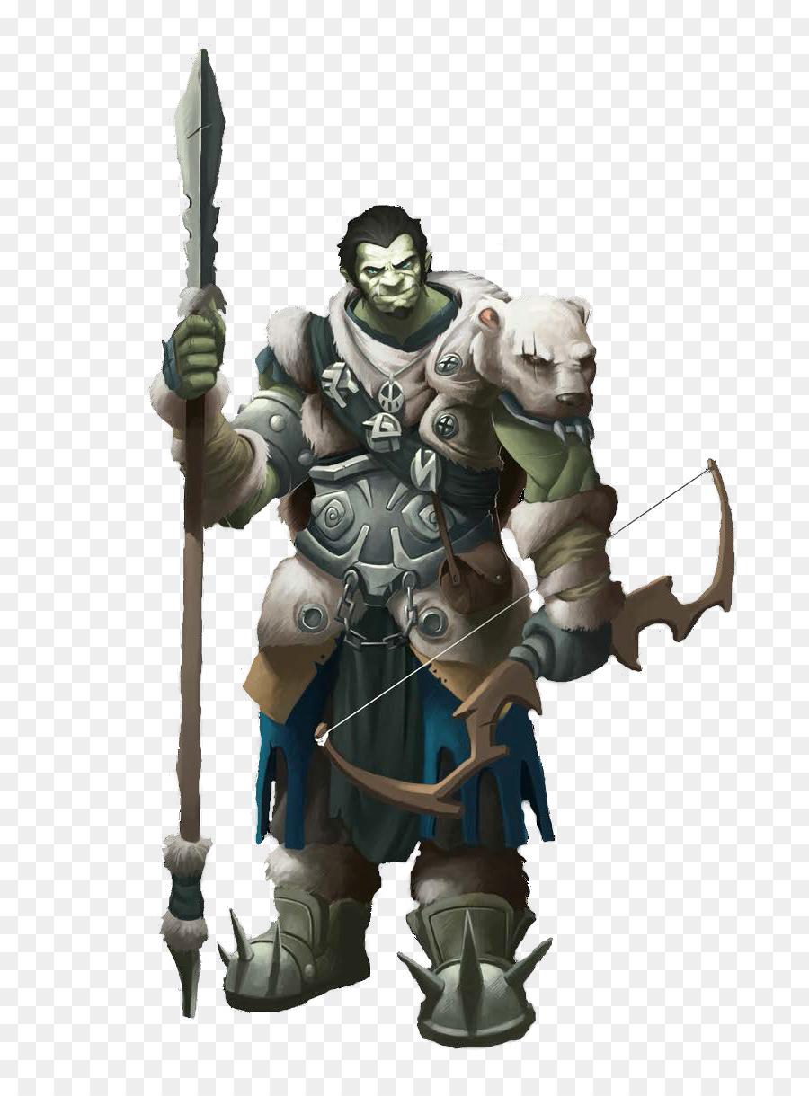 Descarga gratuita de Dungeons Dragons, Pathfinder Juego De Rol De Juego, Halforc Imágen de Png