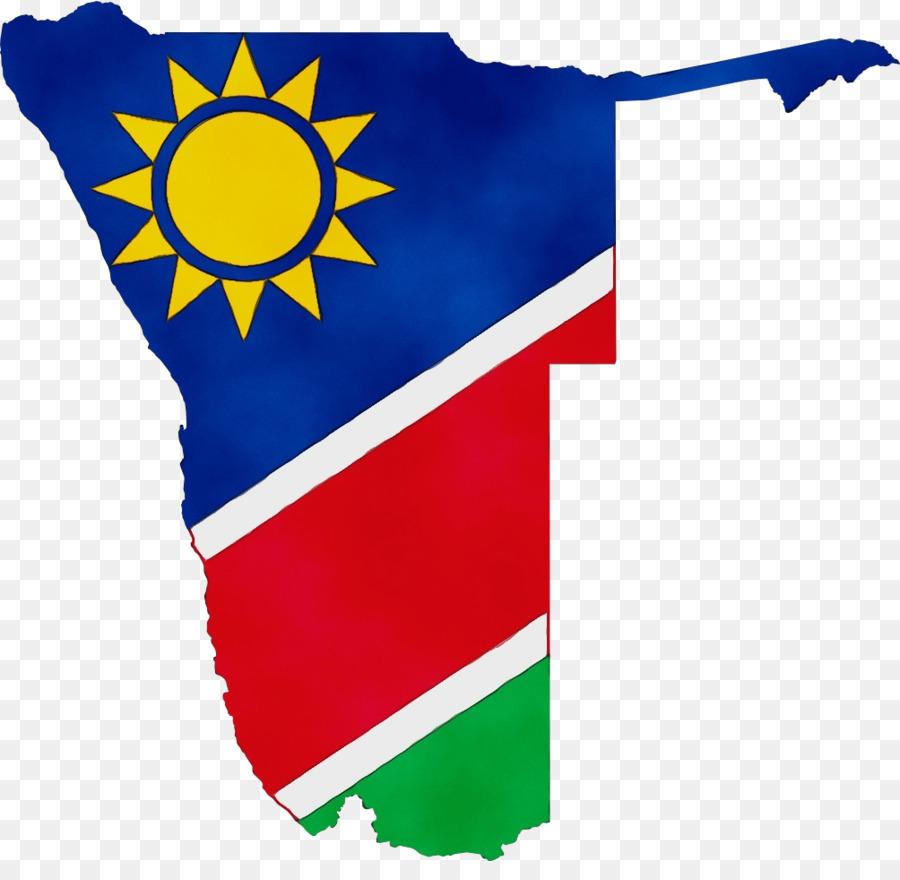 Descarga gratuita de Namibia, Bandera De Namibia, Bandera Imágen de Png