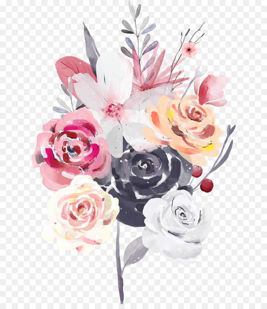 Descarga gratuita de Ramo De Flores, Flor, Rosa Imágen de Png