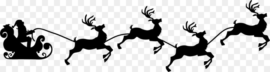 Descarga gratuita de Santa Claus, Rudolph, Los Ciervos Imágen de Png