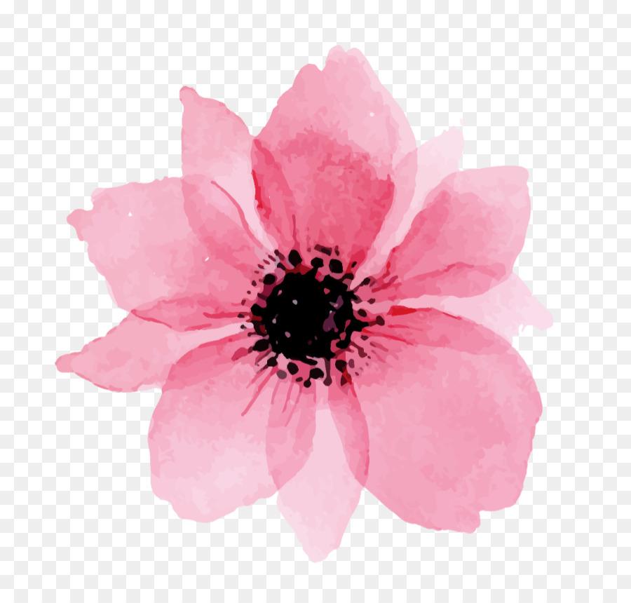 Descarga gratuita de Pintura A La Acuarela, Todavía Vida De Rosas De Color Rosa, Pintura imágenes PNG
