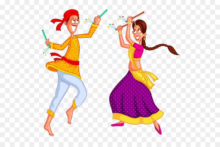 Descarga gratuita de Dandiya Raas, Garba, La Danza imágenes PNG