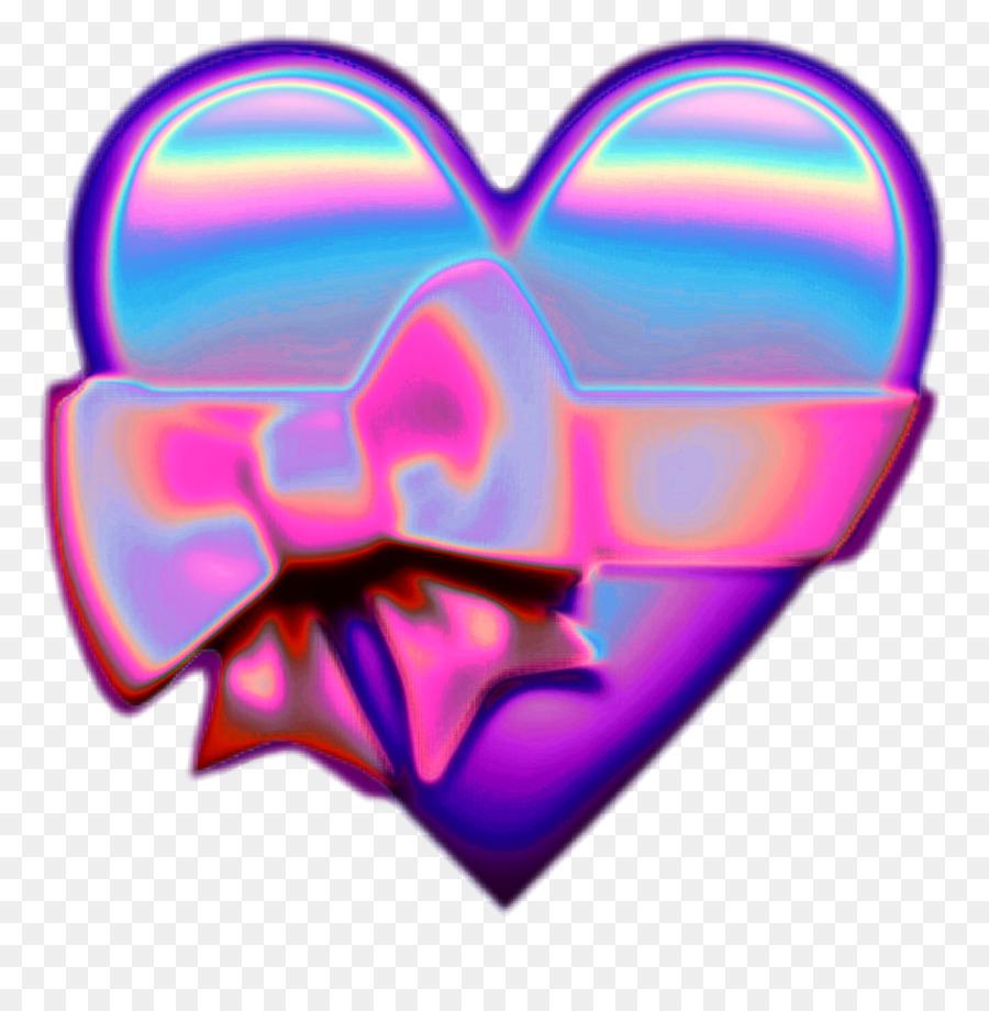 Descarga gratuita de Corazón, Emoji, La Holografía Imágen de Png
