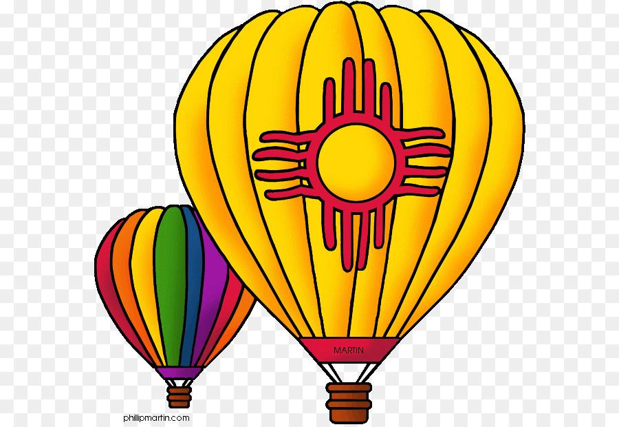 Descarga gratuita de Nuevo México, Globo De Aire Caliente, Albuquerque International Balloon Fiesta imágenes PNG