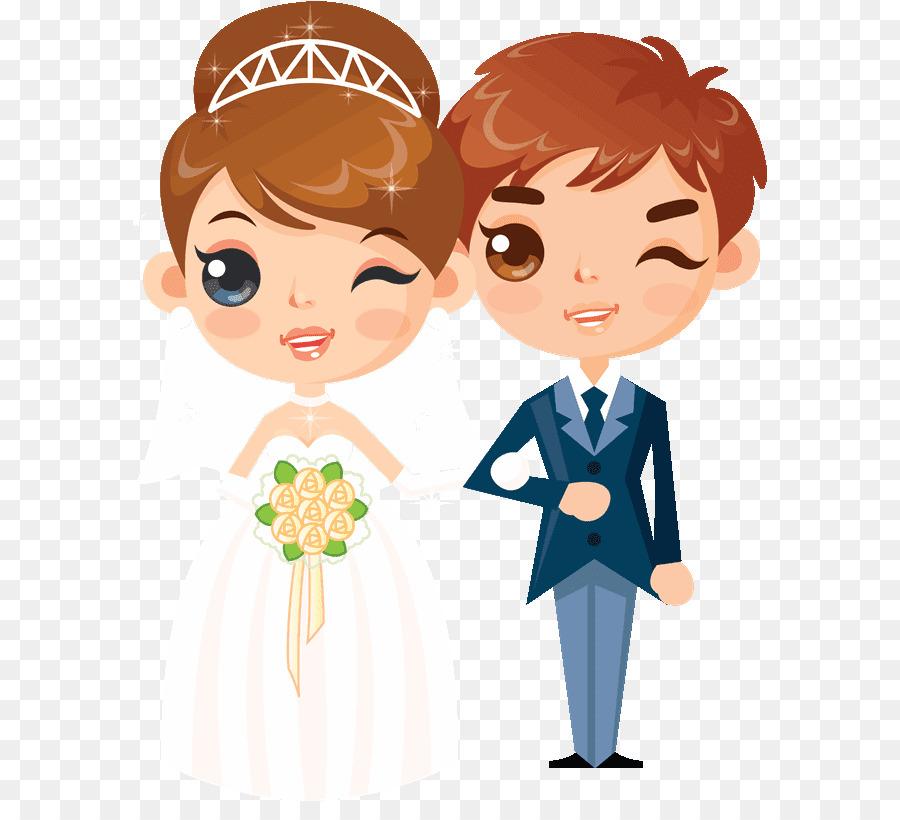 Descarga gratuita de La Boda, El Matrimonio, Dibujo Imágen de Png