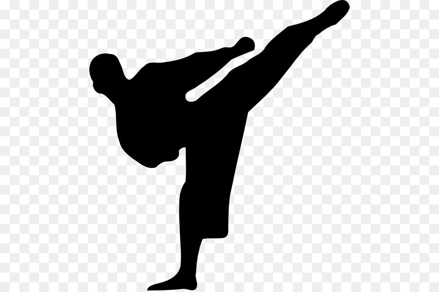 Descarga gratuita de Las Artes Marciales, Karate, Silueta Imágen de Png