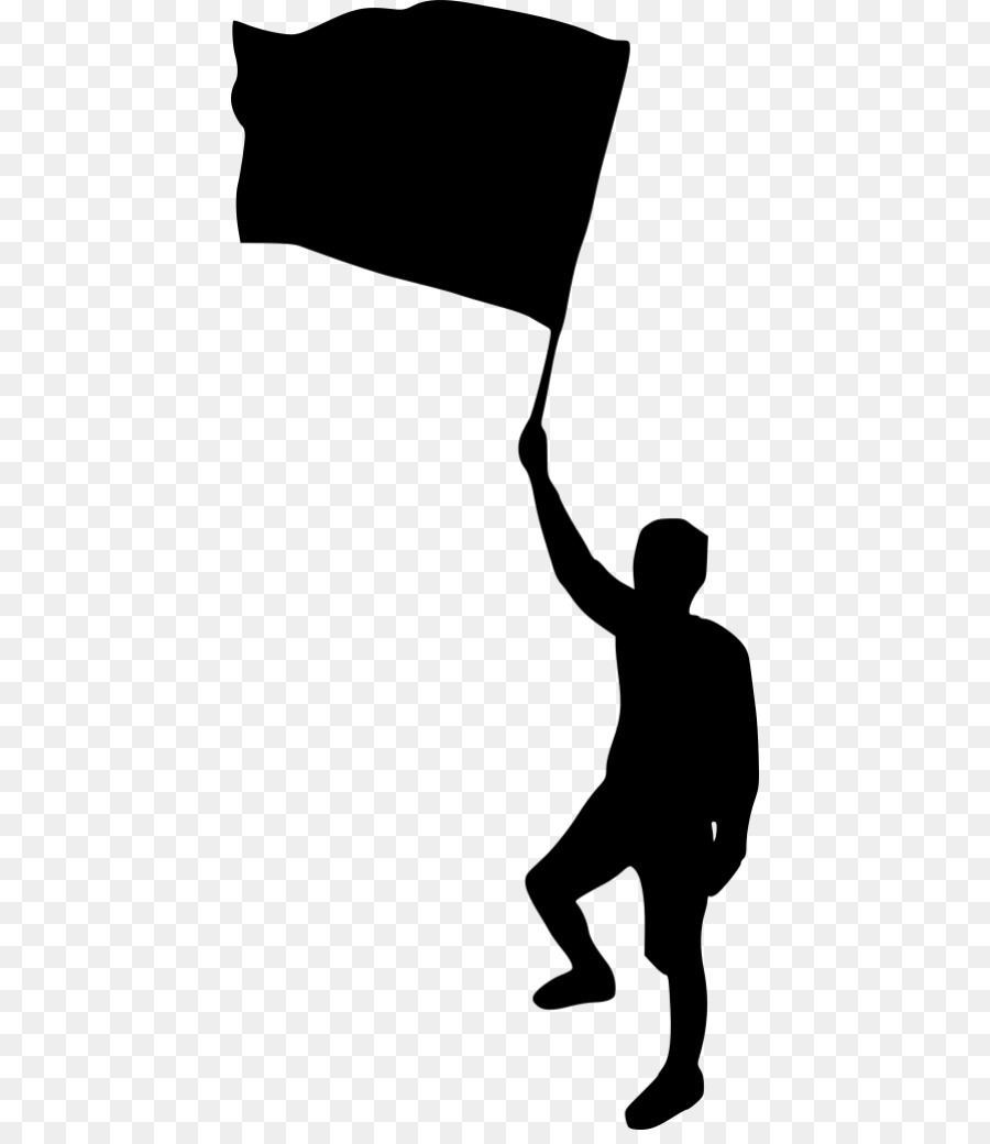Descarga gratuita de Silueta, Persona, Bandera imágenes PNG