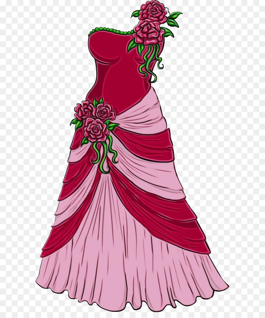 Vestido Dibujo Arte Imagen Png Imagen Transparente