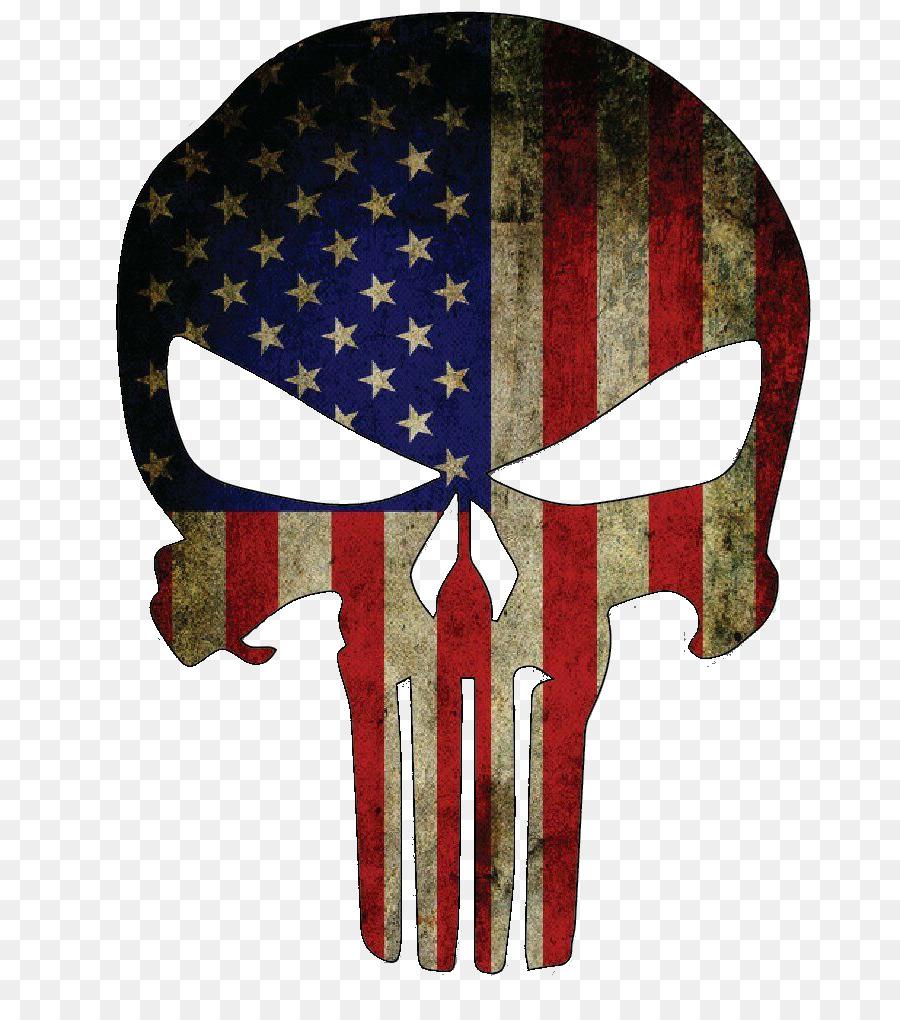 Descarga gratuita de Estados Unidos, Punisher, Calcomanía Imágen de Png
