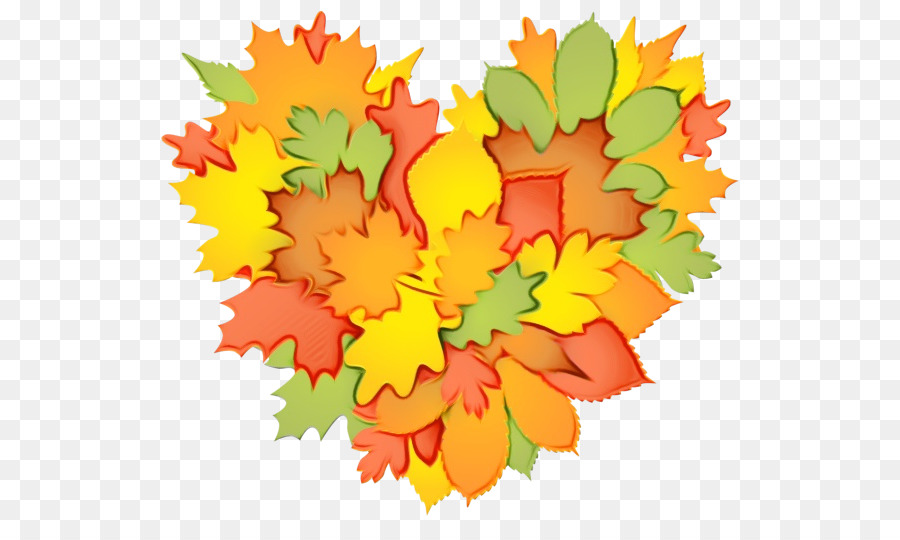 Descarga gratuita de Diseño Floral, Amarillo, La Hoja De Arce imágenes PNG