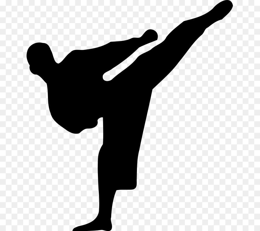 Descarga gratuita de Karate, Las Artes Marciales, Silueta Imágen de Png