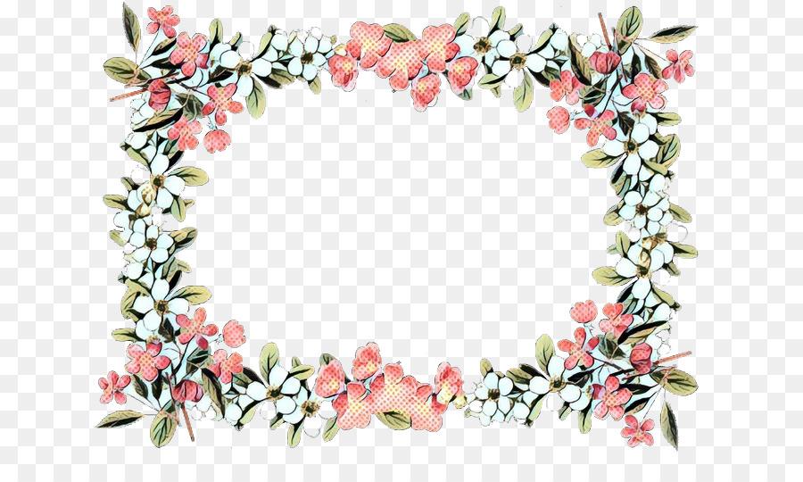 Las Flores Cortadas Frontera Bordes Y Marcos Imagen Png