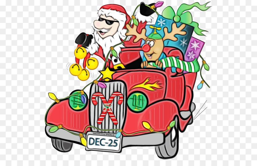 Descarga gratuita de Santa Claus, Trineo, Coche Imágen de Png