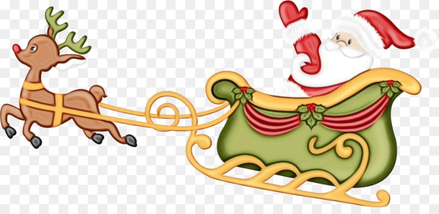 Descarga gratuita de Trineo, Santa Claus, La Navidad Imágen de Png