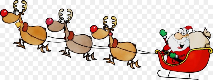 Descarga gratuita de Santa Claus, Trineo, La Navidad Imágen de Png