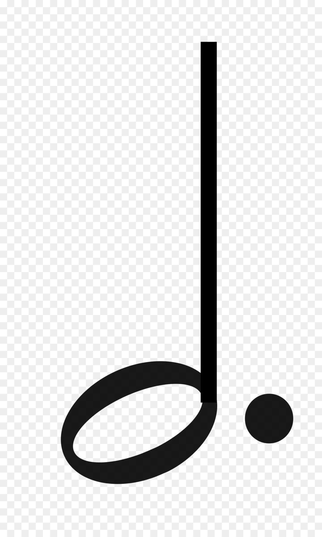 Descarga gratuita de Nota Con Puntillo, La Mitad De La Nota, Cuarto De Nota imágenes PNG