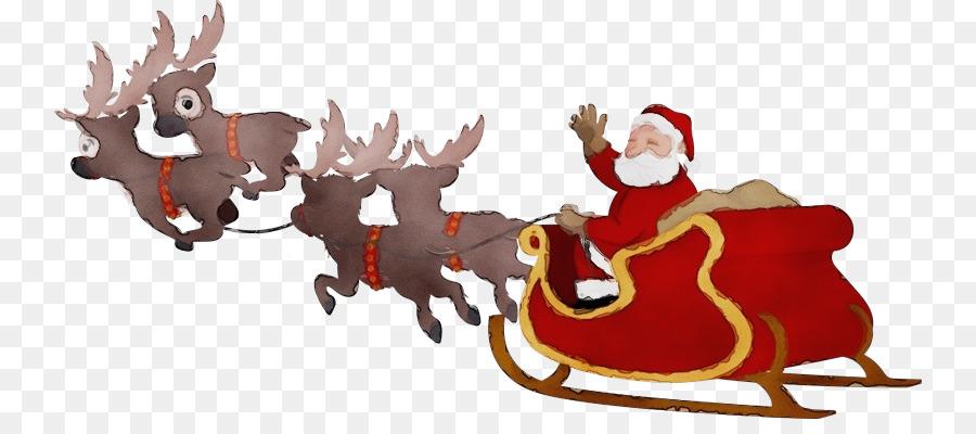 Descarga gratuita de Trineo, Santa Claus, La Señora Claus Imágen de Png