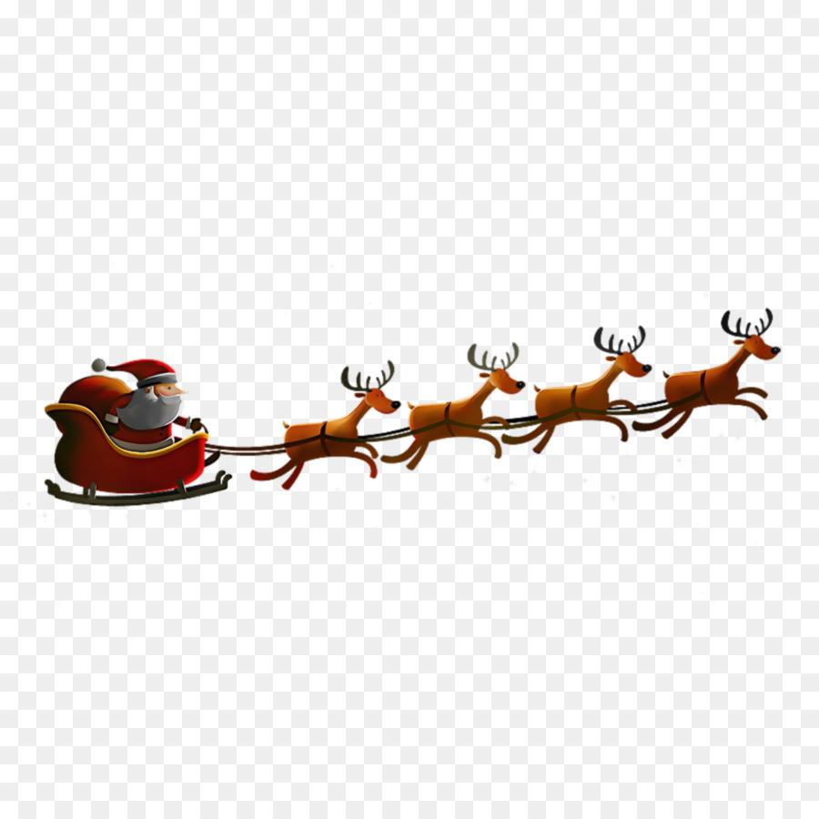 Descarga gratuita de Santa Claus, Los Ciervos, Rudolph Imágen de Png