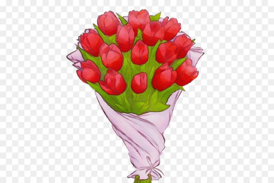 Descarga gratuita de Las Rosas De Jardín, Tulip, Las Flores Cortadas Imágen de Png
