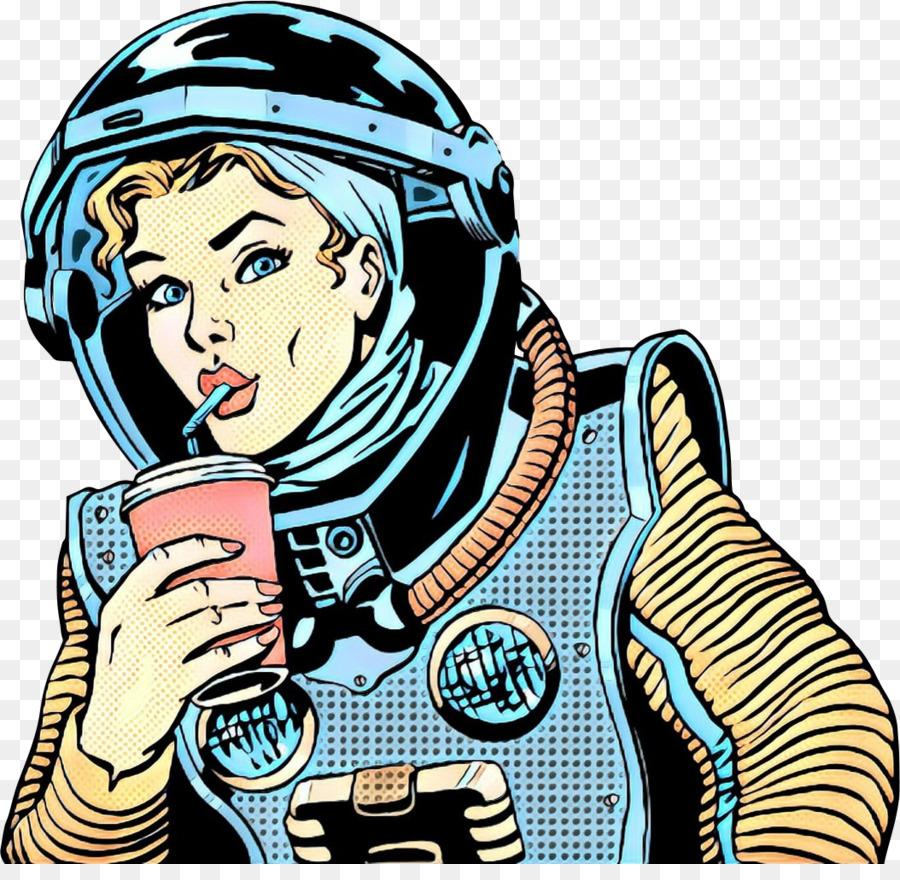 Descarga gratuita de Dibujo, Astronauta, Carácter imágenes PNG