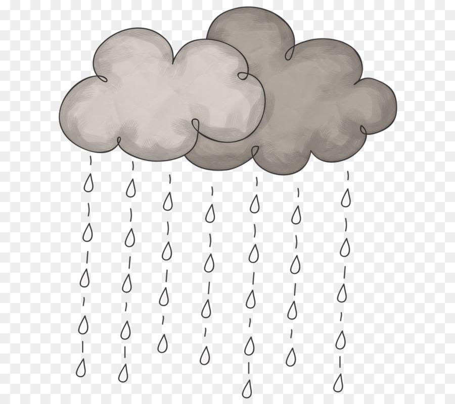 Descarga gratuita de La Nube, Dibujo, La Lluvia imágenes PNG