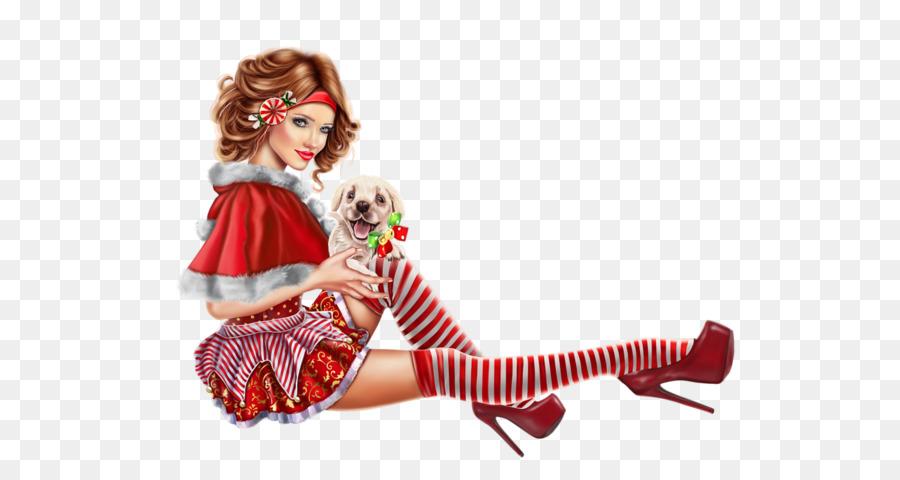 Descarga gratuita de Muñeca, Christmas Day, Chica imágenes PNG