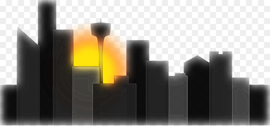 Descarga gratuita de Dibujo, Paisaje Urbano, Silueta imágenes PNG
