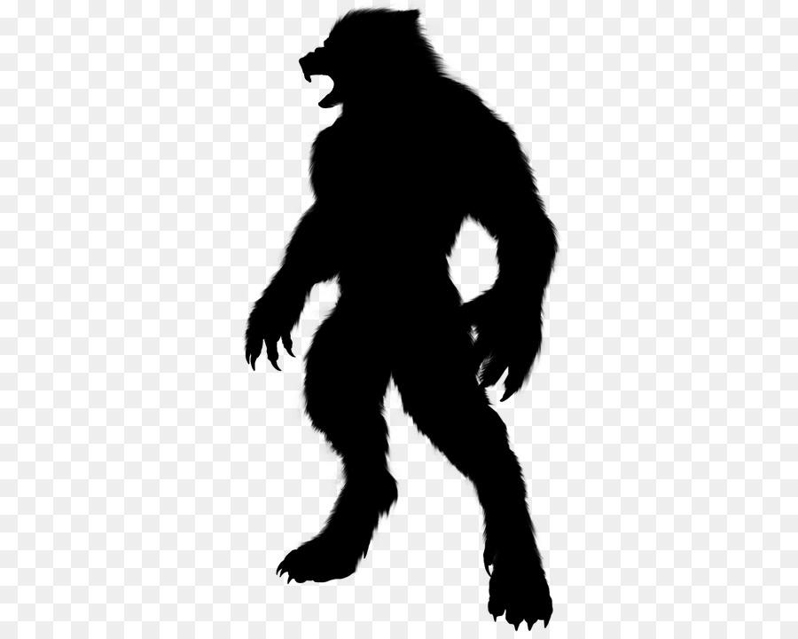 Descarga gratuita de Silueta, Humanos, Hombre Lobo Imágen de Png