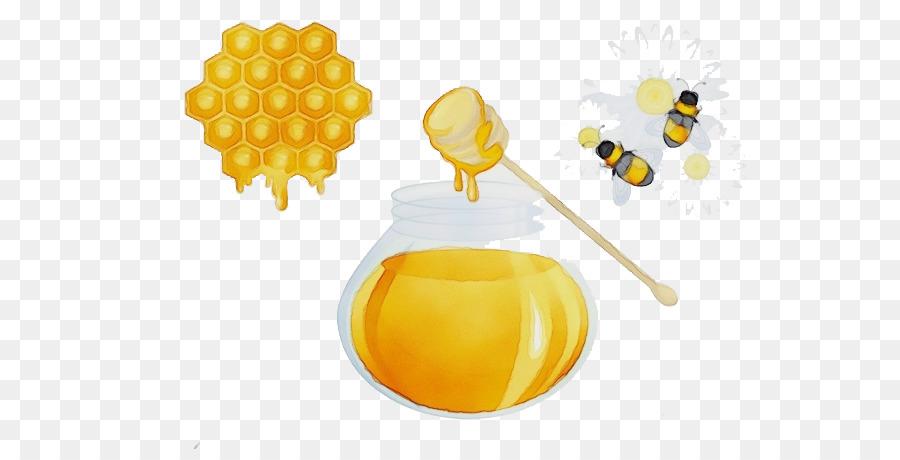 Descarga gratuita de Amarillo, Honeybee, La Miel Imágen de Png