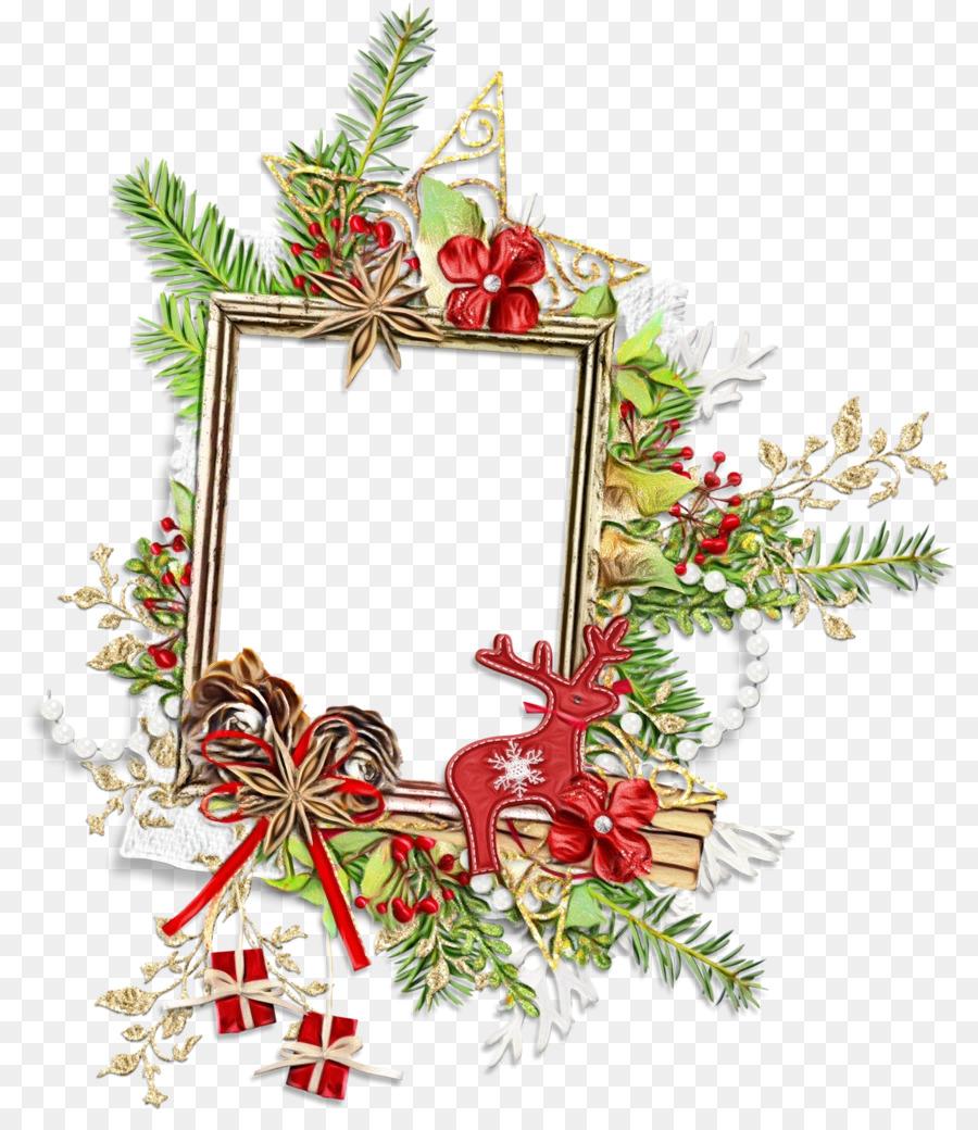 Descarga gratuita de Decoración De La Navidad, Marco De Imagen, Planta Imágen de Png
