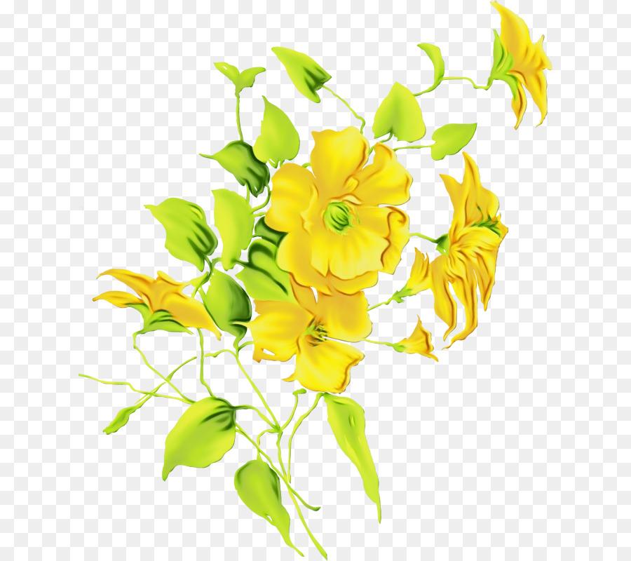 Descarga gratuita de Flor, La Floración De La Planta, Amarillo Imágen de Png