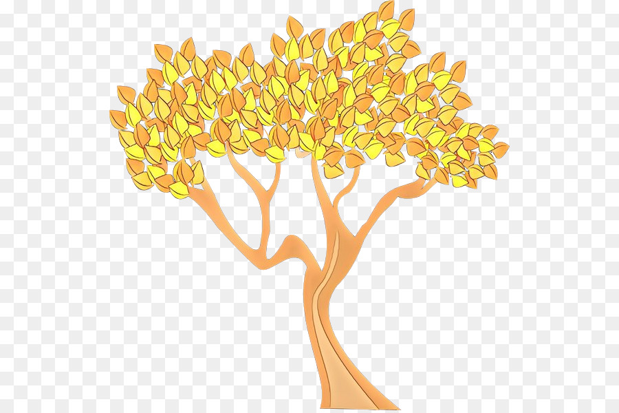 Descarga gratuita de Amarillo, árbol, Hoja Imágen de Png
