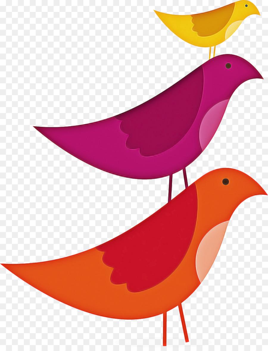 Descarga gratuita de Aves, Naranja, Pico Imágen de Png
