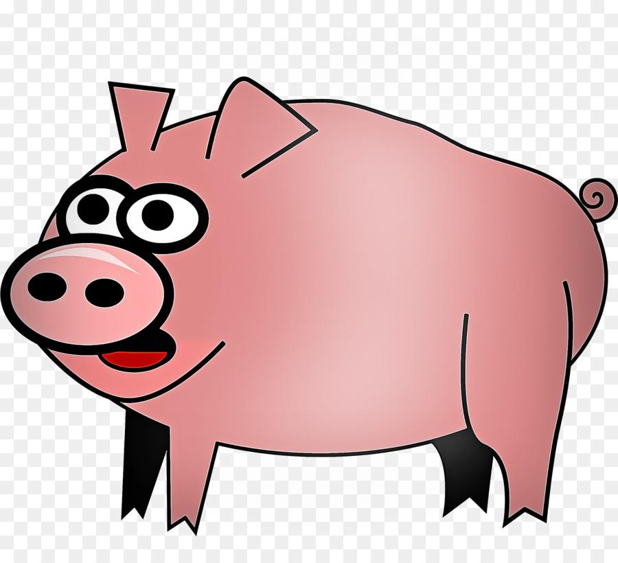 Descarga gratuita de Cerdo Doméstico, Hocico, Rosa imágenes PNG