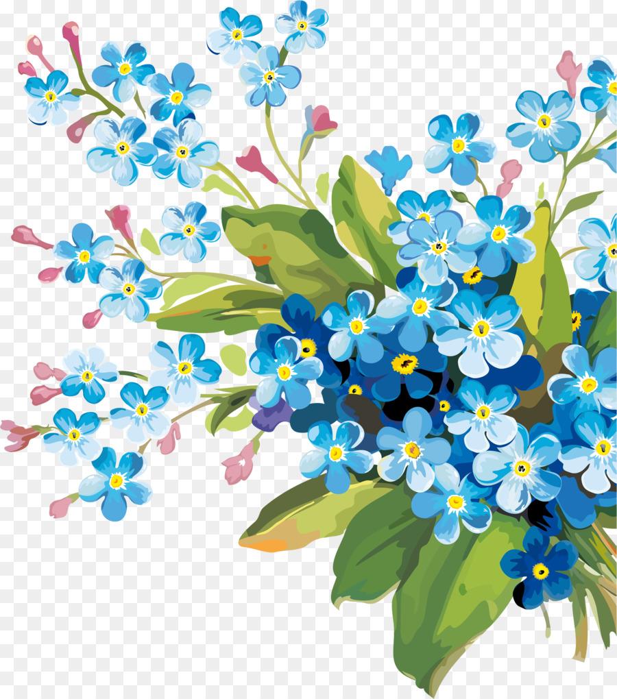 Descarga gratuita de Flor, Planta, Forgetmenot imágenes PNG
