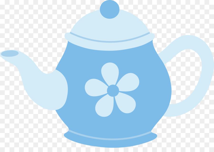 Descarga gratuita de Hervidor De Agua, Tetera, Azul Imágen de Png