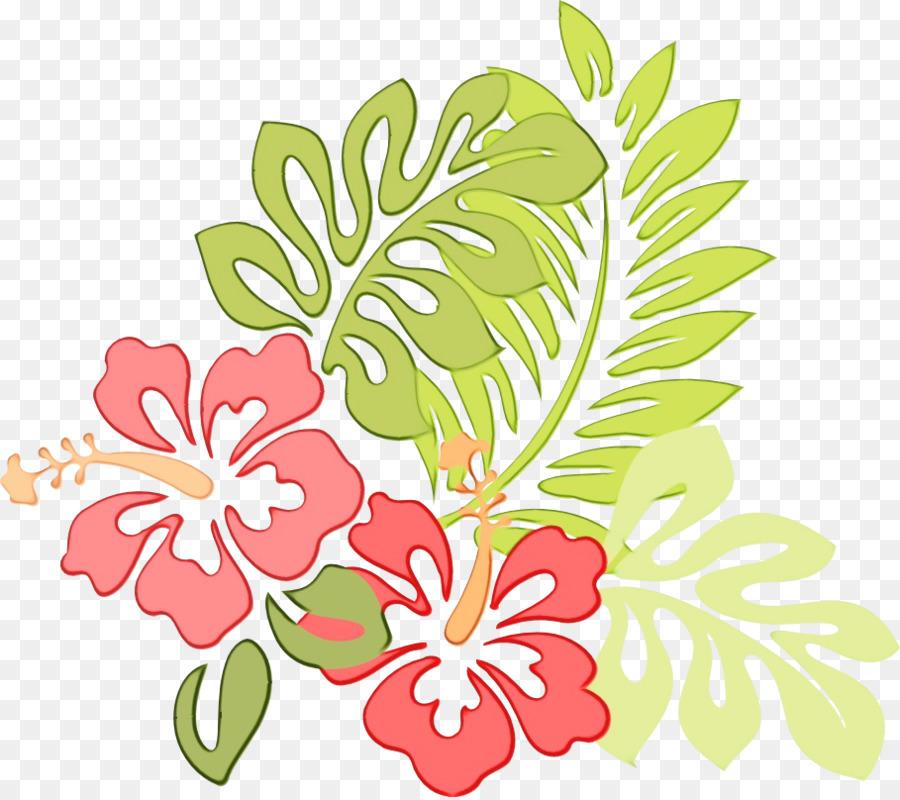 Descarga gratuita de Hibiscus Hawaiian, Flor, Planta Imágen de Png