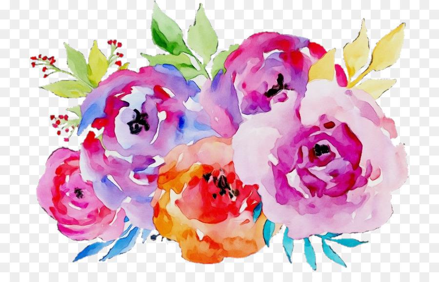 Descarga gratuita de Flor, Pintura Acuarela, Rosa Imágen de Png