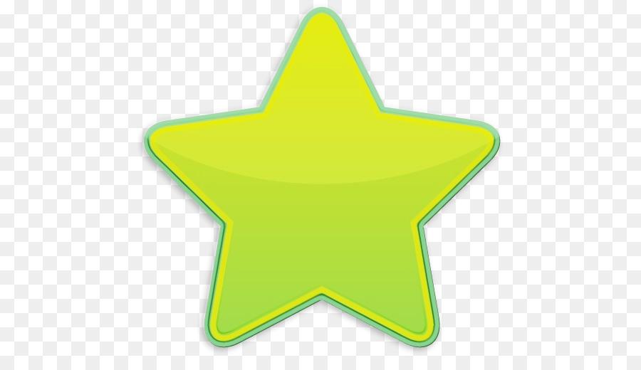 Descarga gratuita de Verde, Amarillo, Estrella Imágen de Png