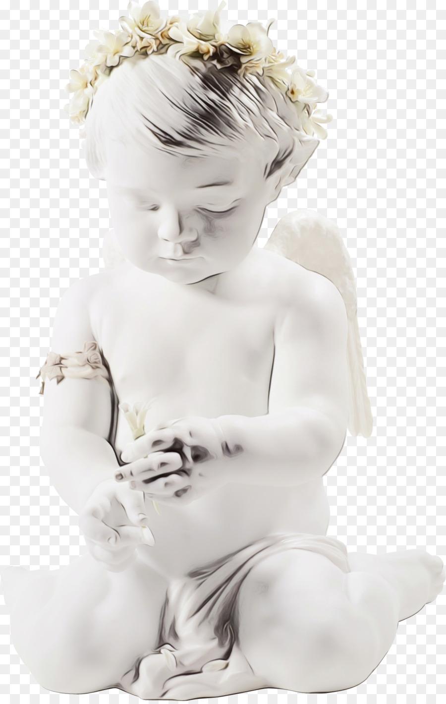 Descarga gratuita de Blanco, ángel, Niño Imágen de Png