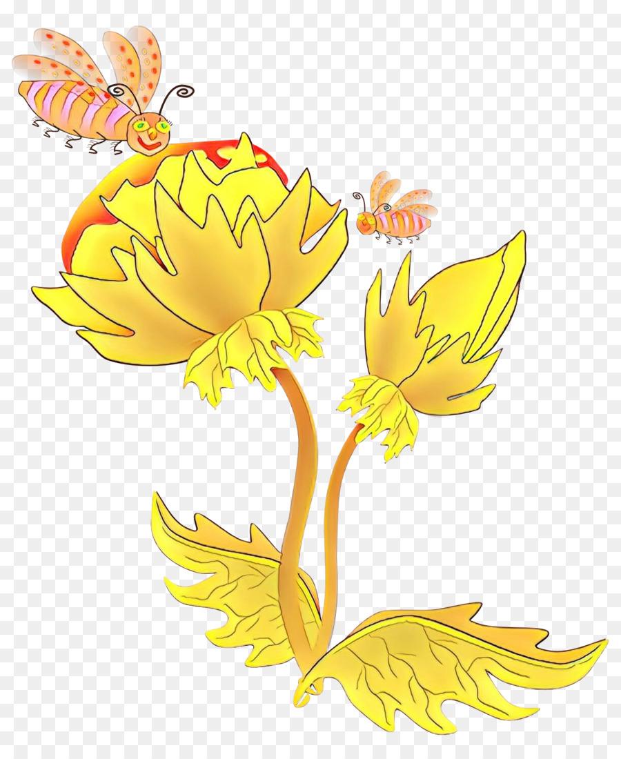 Descarga gratuita de Amarillo, Flor, Planta imágenes PNG