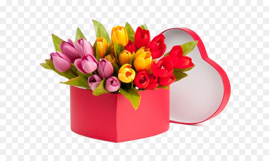 Descarga gratuita de Flor, Maceta, Tulip Imágen de Png