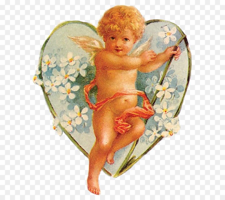 Descarga gratuita de ángel, Cupido, Corazón Imágen de Png