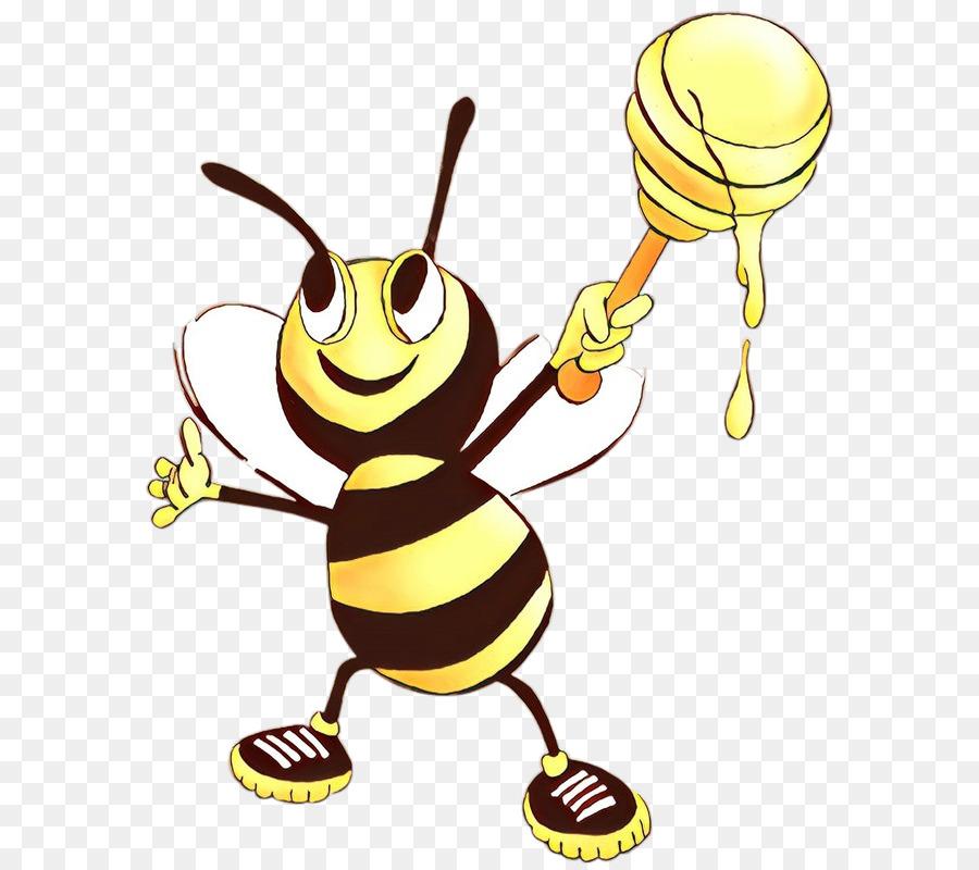 Descarga gratuita de Honeybee, Abeja, Amarillo Imágen de Png