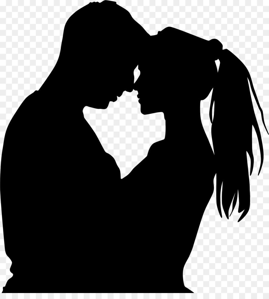 Descarga gratuita de Silueta, El Amor, Romance Imágen de Png