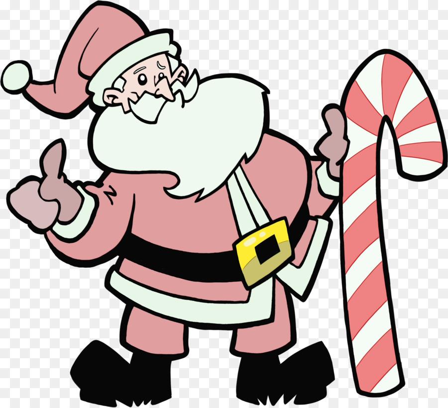 Descarga gratuita de Santa Claus, Línea, La Navidad Imágen de Png